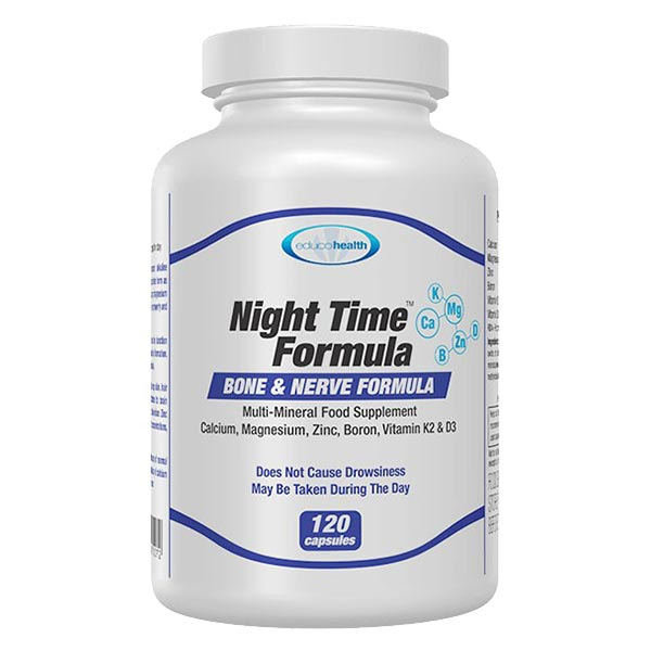 Night Time Formula 120 capsules