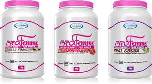 Profemme low GI protein drink for women