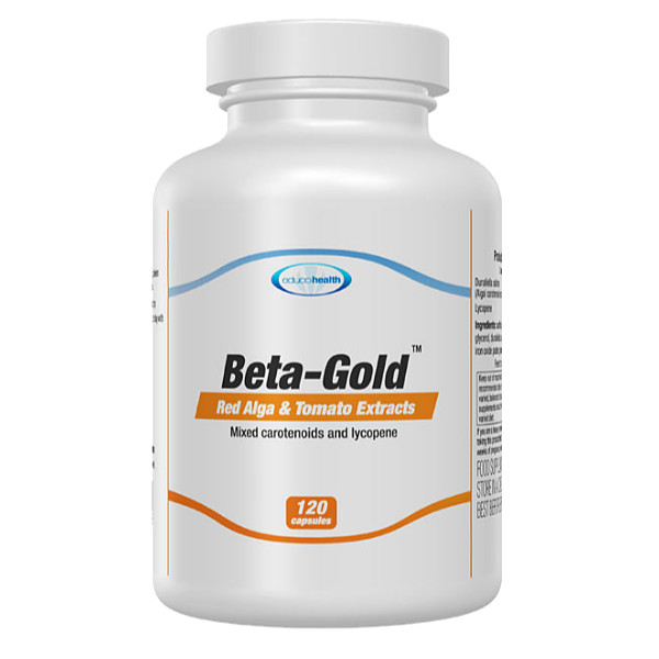 Beta-Gold 120 Natural Tanning Capsules